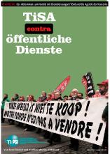 TiSA contra oeffentliche Dienste Titelblatt