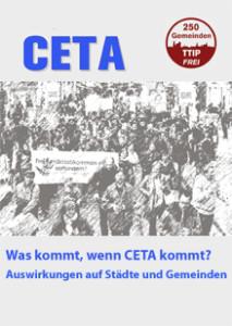 CETA Auswirkungen Gemeinden