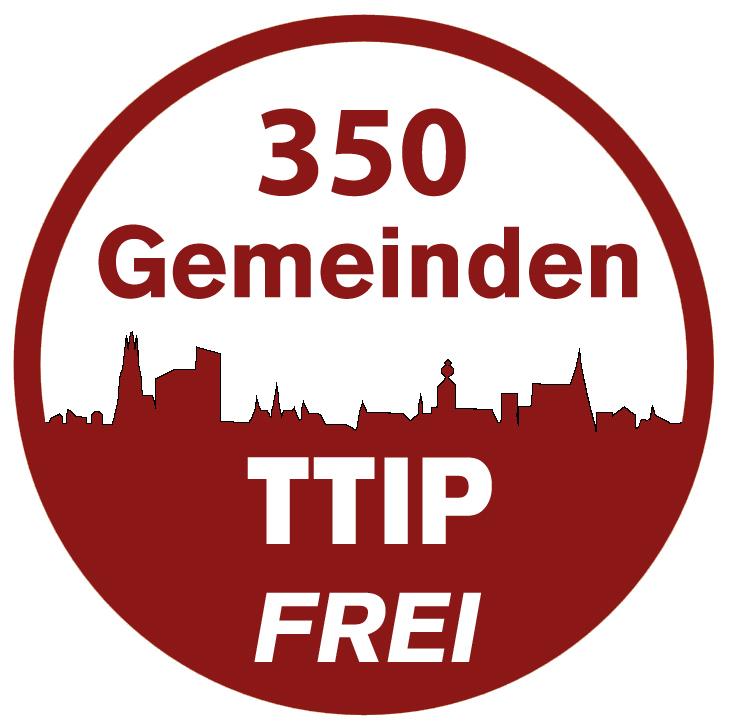 350 Gemeinden TTIP-frei