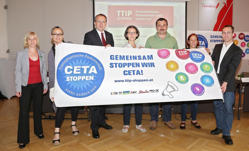Pressekonferenz Plattform TTIP Stoppen