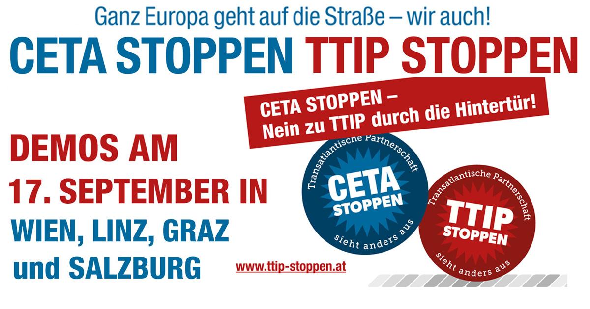 TTIP CETA Demo