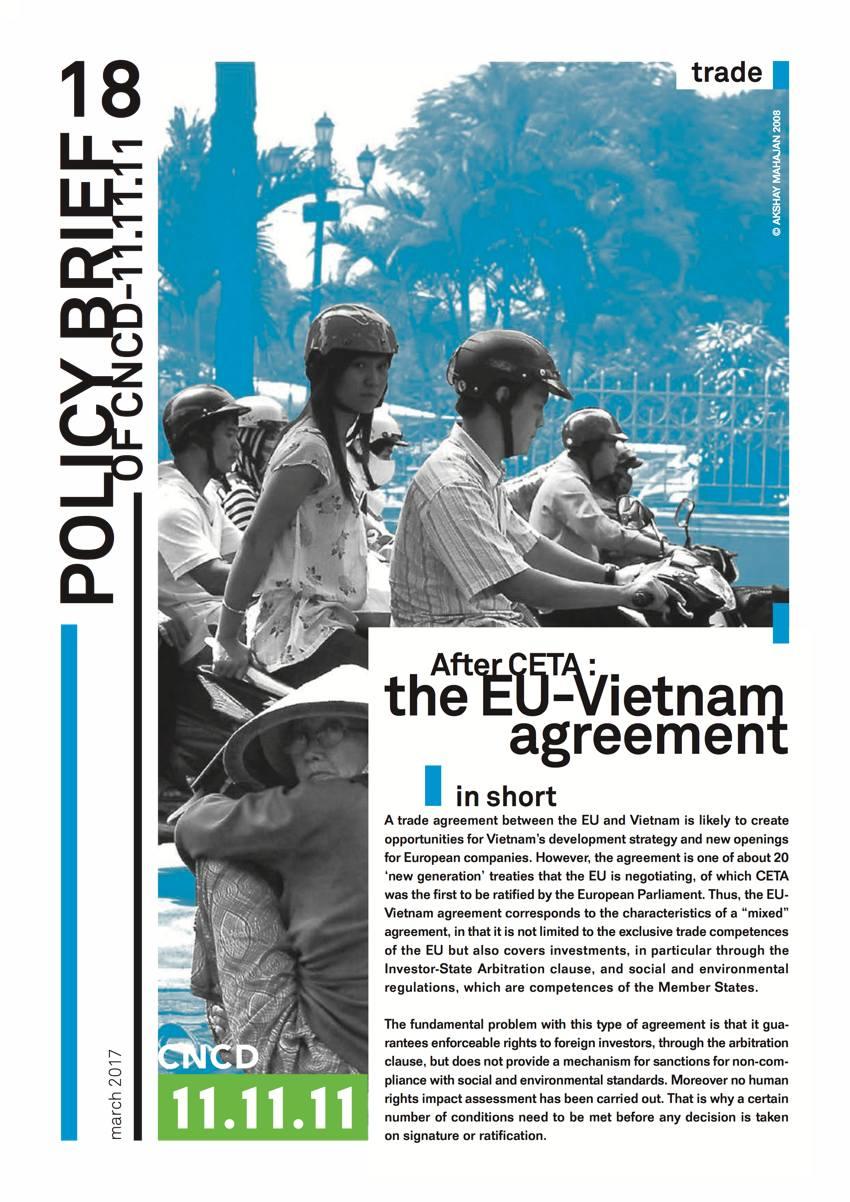 EU Vietnam Handelsabkommen