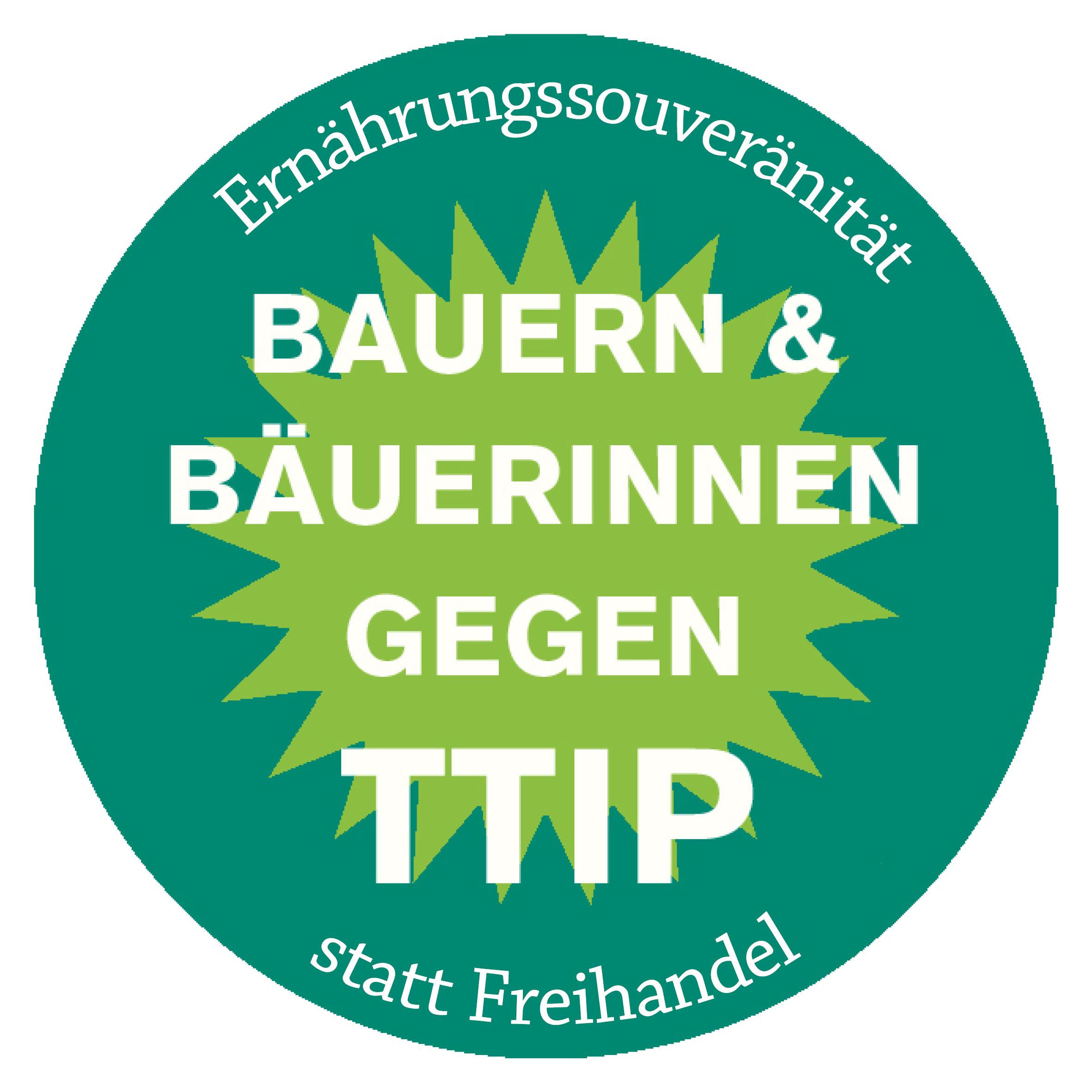 Bauern & Bäuerinnen gegen TTIP