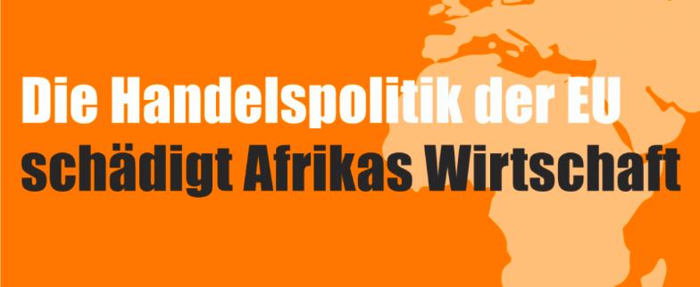Eu Handelspolitik Afrika